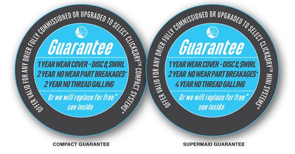 compact and supermaxi guarantee roundels